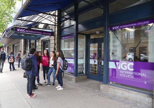 VGC Gastown Campus - Entrata (esterno)