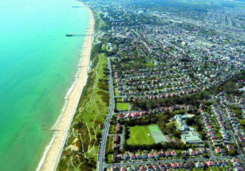 Bournemouth Collegiate School - Vista dall'alto