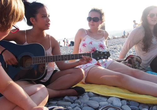 "Attivitá : ""Pan Bagnat"" in spiaggia"
