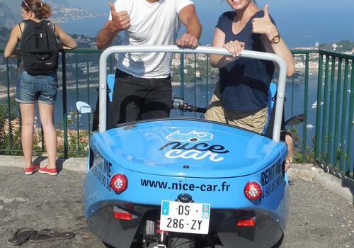 Attivitá : Visit of Nice by Nice Mini Cars