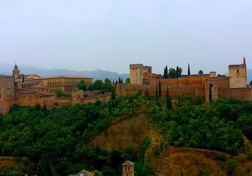 Paesaggio ad Alhambra