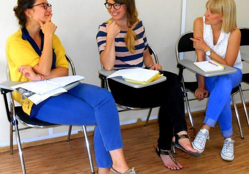 Lezione in piccoli gruppi