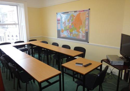 Una classe della scuola
