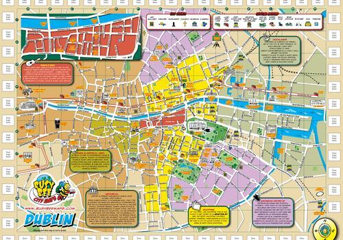 La mappa di Dublino