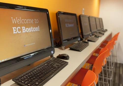 EC Boston - L'aula computer