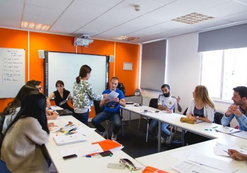 EC Bristol - Un'aula
