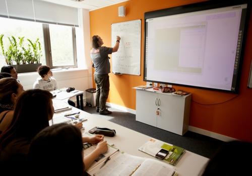 EC London - L'aula