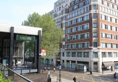 EC London - L'edificio
