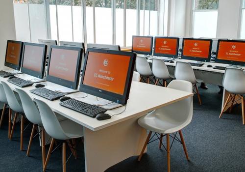 EC Manchester - L'aula computer