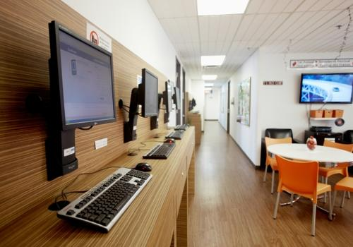 EC Montreal - La student lounge