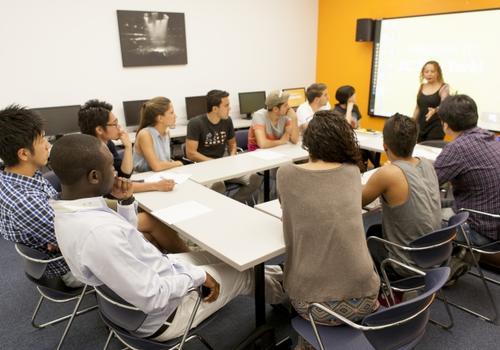 EC New York - L'aula