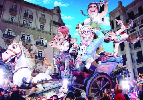 TARONJA - Valencia, Fallas Festival