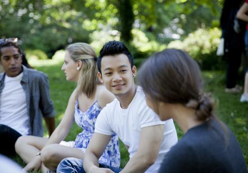 Studenti al Brighton Park