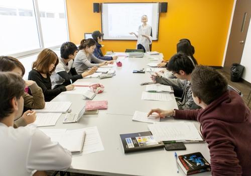 EC Montreal - Gli studenti in aula