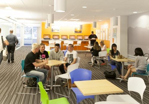 EC LA - La student lounge