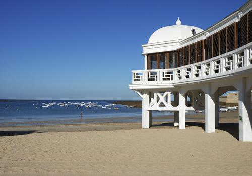 """La spiaggia """"La Caleta"""""""