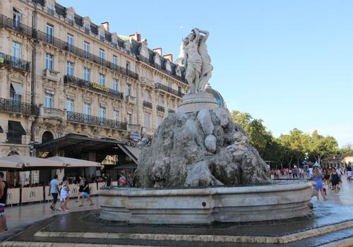 La cittá di Montpellier