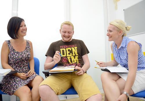 Lesson at Maltalingua School of English