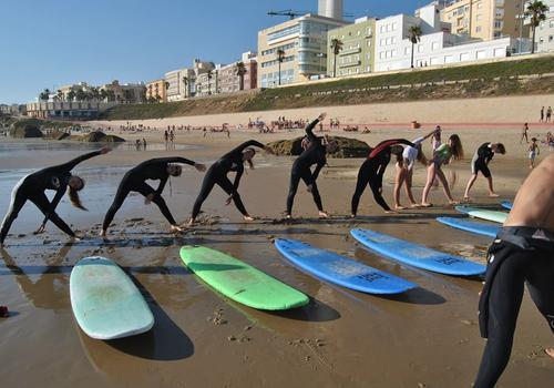 Lezioni di surf 2