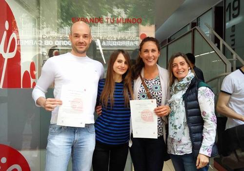 Studenti con il certificato