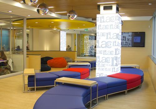 ILAC Vancouver lounge